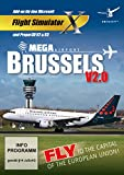 Flight Simulator X - Mega Airport Brussels V 2.0 - [PC]