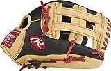 Rawlings - Guante de béisbol, 12', Unisex Adulto, Color Black/Camel- Bryce Harper Model, tamaño 12