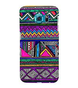 Multi Colour Pattern 3D Hard Polycarbonate Designer Back Case Cover for Samsung Galaxy Note 5 Edge