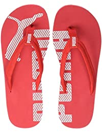 92a285e7f46c0 Amazon.co.uk  Red - Flip Flops   Thongs   Men s Shoes  Shoes   Bags
