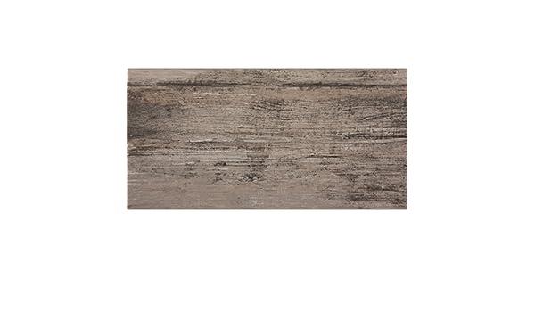 Effetto legno piastrelle per pavimenti santiago grigio marrone 30 x