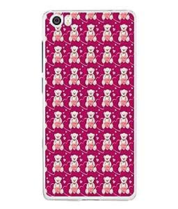 PrintVisa Teddy Pattern High Gloss Designer Back Case Cover for Xiaomi Mi 5 :: Redmi Mi5