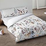 Burrito Blanco - Juego de funda nórdica 340 Gris, para cama de 90 x 190/200 cm.