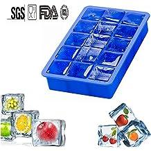 Moldes de silicona para hielo Ice Cube Tray with 15 Cavity