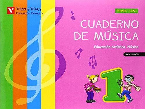 Cuaderno De Música 1 (+CD) - 9788468214160