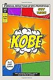 Superhero Kobe: A 6 x 9 Lined Journal
