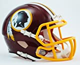 OFFICIAL NFL WASHINGTON REDSKINS MINI SPEED AMERICAN FOOTBALL HELMET BY RIDDELL