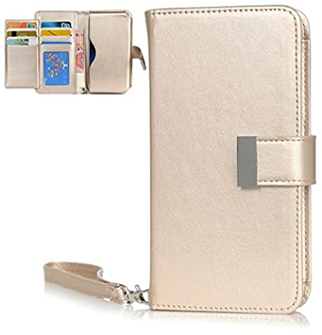 Nnopbeclik® [Coque Samsung Galaxy S5 NEW] Wallet/Portefeuille en Bonne Qualité