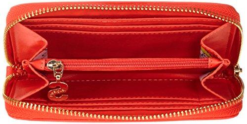 DesigualMINI ZIP BLICK - Portafogli Donna Rosso (Rot (FIESTA 3148))