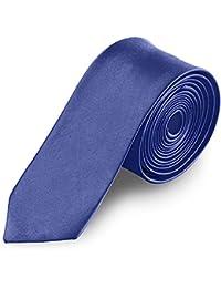 Taffstyle® Farbige schmale dünne Fashion Mode slim Krawatte Satin Business Trend Schlips Binder