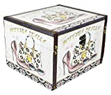 Das Kostümland El Disfraz País Maquillaje Make Up Box Italia–Caja Joyero Cofre del Tesoro Regalo Idea Novios, Mittel