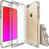 iPhone 6S Plus / 6 Plus Funda - Ringke FUSION *** Nueva Tecnología de Absorción de golpes. Cristal Claro Absorción TPU Parachoques, protección gota prima. Parte Trasera Dura [Resistente a Arañazos, con Tecnología de activación al toque - Eco/DIY Paquete