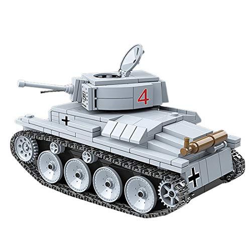 Seciie Tanque Alemán WW2 Building Bricks Guerra Tanque