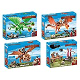 PLAYMOBIL 9458-59-60-61 Dragons Set 6 - 9458 + 9459 + 9460 + 9461
