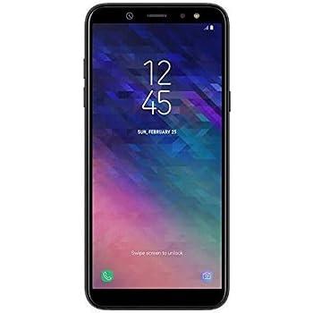Samsung Galaxy A6 Lte 32gb Sm A600fn Schwarz Sim Free Amazon De