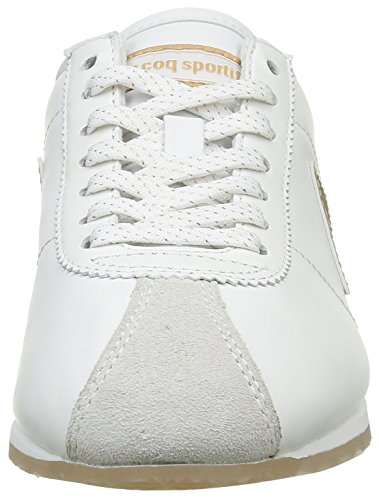 Le Coq Sportif Damen Wendon Sparkly Sneakers Weiß (White/GoldWhite/Gold)