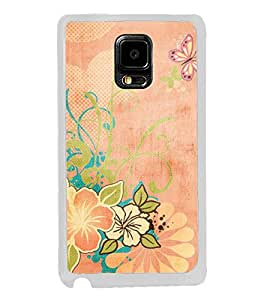ifasho Animated Pattern colrful traditional design cloth pattern Back Case Cover for Samsung Galaxy Note 4 Edge