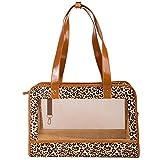 Daeou Zaino per animali domestici Cane di griglia traspirante Bag borsa gatto sacchetto 40 * 27 * 20cm PVC