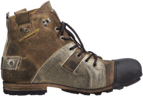 Yellow Cab Industrial Herren Biker Boots Beige (beige)