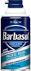 2 Pack - Barbasol Beard Buster Shaving Cream Pacific Rush 11 oz