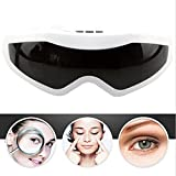 #8: Para Magnetic Eye Massager Electric Vibration Stress Prevention Instrument Eye Care Relaxation Massager,Black