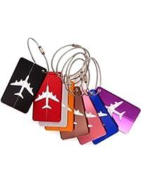Etiqueta para equipaje - Ailiebhaus Varios colores Etiquetas Maleta Las etiquetas de identificación