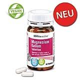 Magnesium Kalium Tabletten | Knochen, Muskeln & Gelenke | Fit mit Magnesium | 60 Tabletten