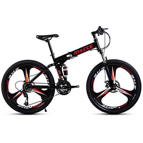51YhTpM1qfL. SS500  - HIKING BK 21 Speed Folding Mountain Bike Bicycle 24-inch Male And Female Students Shift Double Shock Absorber Adult Commuter Foldable Bike Dual Disc Brakes