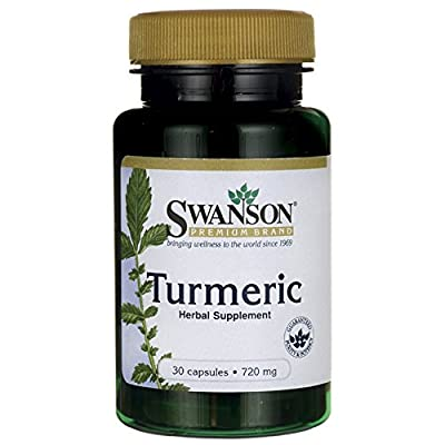 Swanson Turmeric (720mg, 30 Capsules) from Swanson Health Products