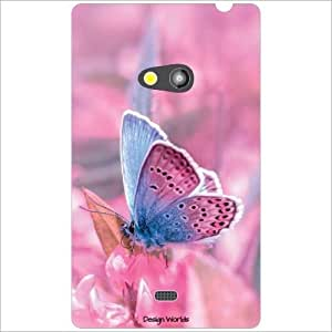 Design Worlds - Nokia Lumia 625 Designer Back Cover Case - Multicolor Phone...