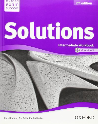 Solutions. Intermediate. Workbook. Per le Scuole superiori. Con CD Audio