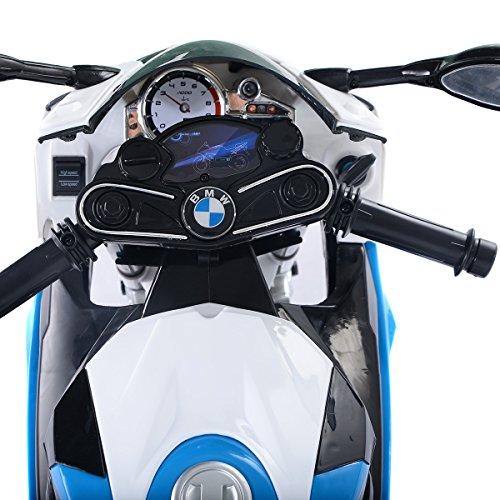 Led Beleuchtung Motorrad | Lizenz Bmw S1000rr Elektro Kinder Motorrad Kinderfahrzeug 2x Motor