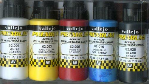 VALLEJO-3062101 62101 VALLEJO Premium Color Set DE DE, Surtido (3062101