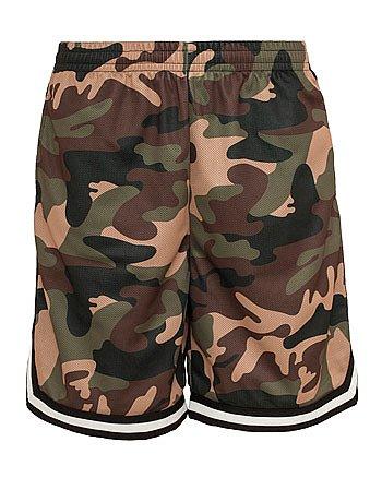 Urban Classics Camo Stripes Mesh Shorts Shorts camouflage S