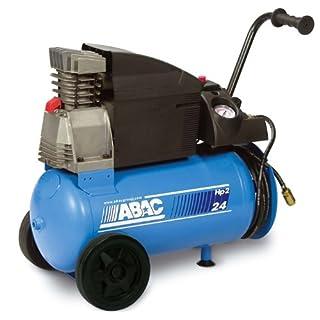 Abac Montage Kompressor mit Schlauchtrommel 1,5 kW - 24L Tank - D240