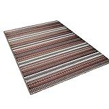 SESO UK-CAR Rechteckiger Teppich, Gestreifter Teppich, für Wohnzimmer Schlafzimmer Bedside (Farbe : Color#1, größe : 200X300cm)