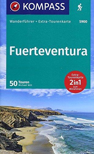 Guida escursionistica n. 5900. Fuerteventura. Con carta: Wanderführer mit Extra-Tourenkarte 1:60.000, 50 Touren, GPX-Daten zum Download.