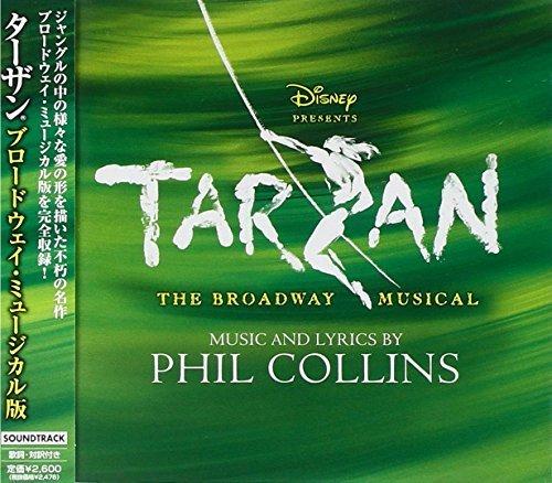 TARZAN THE BROADWAY MUSICAL +1 by V.A. - Cd Tarzan