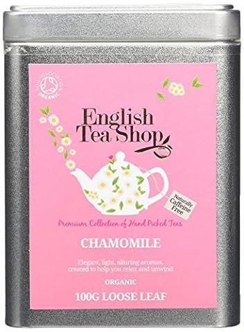 English Tea Shop Chamomile Organic Loose Tea 100