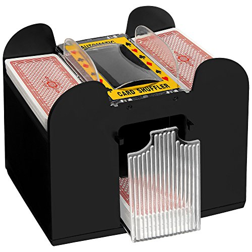 Preisvergleich Produktbild Kartenmischmaschine für 6 Decks - Geschenk für sie & ihn