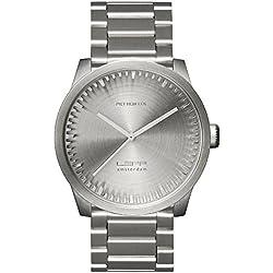 Leff Amsterdam Men's Watch Analogue Quartz Stainless Steel Grey LT72101