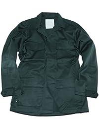 Mil-Tec BDU Combat Chemise Noir