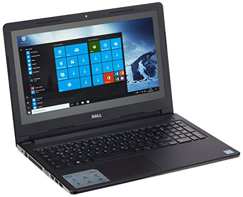Dell 9WFVV 39,62 cm (15,6 Zoll) Notebook (Intel Core i3-6600U, 256GB Festplatte, 8GB RAM, Win 10 Pro, QWERTZ (german keyboard)) schwarz