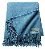 Schöner Wohnen Plaid, Polyacryl, 50 Prozent Baumwolle, Nachtblau, 200 x 140 cm