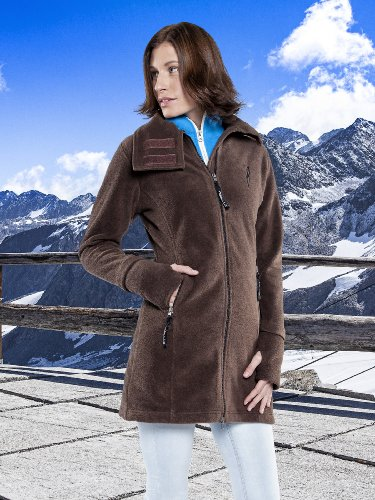 Nebulus Damen Flecemantel Coat Braun