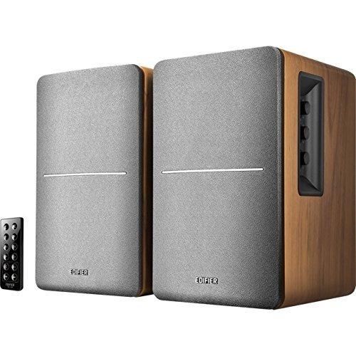 51Yhk%2BI%2BUXL. SS500  - Edifier R1280T Powered Active Bookshelf Speakers - 2.0 Near Field Monitors - Studio Monitor Computer Speaker - Wooden Enclosure - 42 Watts RMS