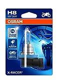 Osram 64212XR-01B X-RACER H8 Halogen Motorrad-Scheinwerferlampe, Einzelblister (1 Stück)