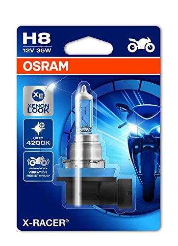 Cbi-breaker (Osram 64212XR-01B X-RACER H8 Halogen Motorrad-Scheinwerferlampe, Einzelblister (1 Stück))