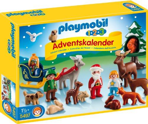 Preisvergleich Produktbild PLAYMOBIL 5497 - Adventskalender Waldweihnacht