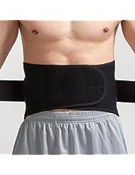 Deportes Cinturón Cintura de baloncesto Cintura de correr cintura Cinturón de cintura con cintura con protección de la cintura ( Color : Azul , Tamaño : 92.4-118.8cm )